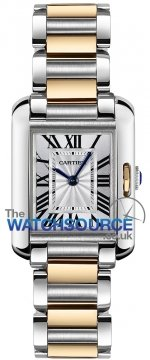 Buy this new Cartier Tank Anglaise Small w5310046 ladies watch for the discount price of £5,850.00. UK Retailer.