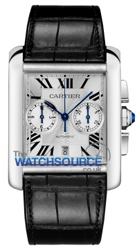 Cartier Tank MC Mens watch, model number - w5330007, discount price of £7,200.00 from The Watch Source