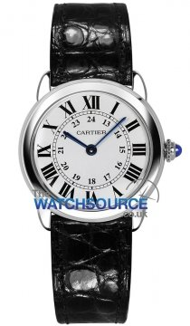 Buy this new Cartier Ronde Solo Quartz 29mm w6700155 ladies watch for the discount price of £1,782.00. UK Retailer.