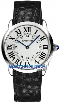 Buy this new Cartier Ronde Solo Quartz 36mm w6700255 ladies watch for the discount price of £2,087.00. UK Retailer.