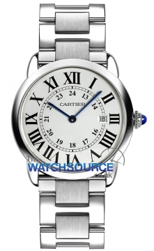 Cartier Ronde Solo Quartz 36mm Ladies watch, model number - w6701005, discount price of £2,030.00 from The Watch Source
