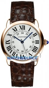 Buy this new Cartier Ronde Solo Quartz 36mm w6701008 ladies watch for the discount price of £4,815.00. UK Retailer.