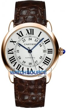Cartier Ronde Solo Automatic 42mm Mens watch, model number - w6701009, discount price of £6,885.00 from The Watch Source