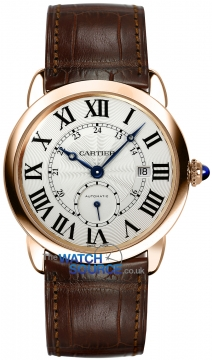 Buy this new Cartier Ronde Louis Cartier w6801005 mens watch for the discount price of £13,230.00. UK Retailer.