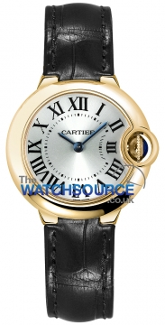 Cartier Ballon Bleu 28mm Ladies watch, model number - w6900156, discount price of £5,820.00 from The Watch Source