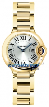 Cartier Ballon Bleu 28mm Ladies watch, model number - w69001z2, discount price of £13,940.00 from The Watch Source