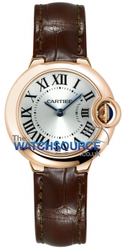 Cartier Ballon Bleu 28mm Ladies watch, model number - w6900256, discount price of £6,336.00 from The Watch Source