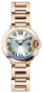 Cartier Ballon Bleu 28mm Ladies watch, model number - w69002z2, discount price of £14,580.00 from The Watch Source