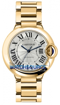 Cartier Ballon Bleu 36mm Ladies watch, model number - w69003z2, discount price of £20,504.00 from The Watch Source
