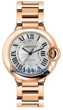 Cartier Ballon Bleu 36mm Ladies watch, model number - w69004z2, discount price of £19,890.00 from The Watch Source