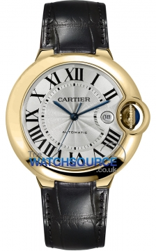 Cartier Ballon Bleu 42mm Mens watch, model number - w6900551, discount price of £12,920.00 from The Watch Source