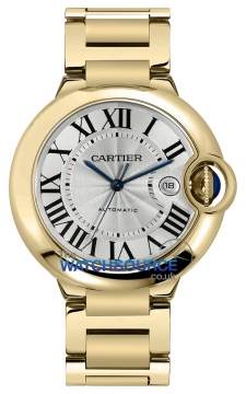 Cartier Ballon Bleu 42mm Mens watch, model number - w69005z2, discount price of £27,090.00 from The Watch Source