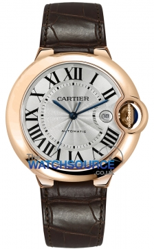 Cartier Ballon Bleu 42mm Mens watch, model number - w6900651, discount price of £13,288.00 from The Watch Source