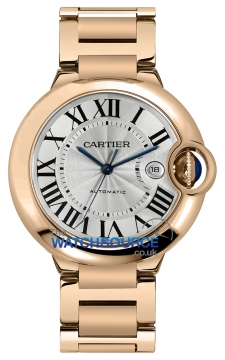 Cartier Ballon Bleu 42mm Mens watch, model number - w69006z2, discount price of £24,395.00 from The Watch Source