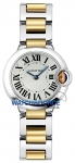 Cartier Ballon Bleu 28mm w69007z3 watch