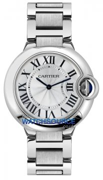Cartier Ballon Bleu 36mm Ladies watch, model number - w69011z4, discount price of £3,872.00 from The Watch Source
