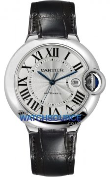 Cartier Ballon Bleu 42mm Mens watch, model number - w69016z4, discount price of £4,224.00 from The Watch Source