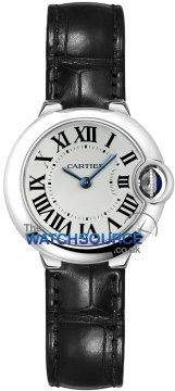 Cartier Ballon Bleu 28mm Ladies watch, model number - w69018z4, discount price of £2,590.00 from The Watch Source