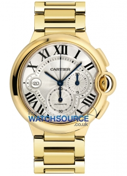 Cartier Ballon Bleu Chronograph Mens watch, model number - w6920008, discount price of £24,095.00 from The Watch Source