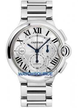 Cartier Ballon Bleu Chronograph Mens watch, model number - w6920031, discount price of £25,710.00 from The Watch Source