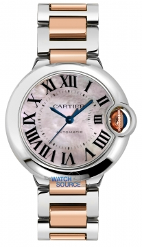 Cartier Ballon Bleu 36mm Ladies watch, model number - w6920033, discount price of £6,248.00 from The Watch Source