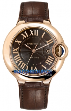 Cartier Ballon Bleu 42mm Mens watch, model number - w6920037, discount price of £12,495.00 from The Watch Source
