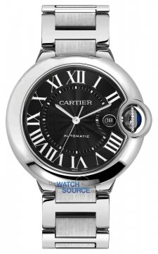 Cartier Ballon Bleu 42mm Mens watch, model number - w6920042, discount price of £4,796.00 from The Watch Source