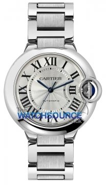 Cartier Ballon Bleu 36mm Ladies watch, model number - w6920046, discount price of £3,740.00 from The Watch Source