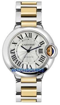 Cartier Ballon Bleu 36mm Ladies watch, model number - w6920047, discount price of £5,907.50 from The Watch Source