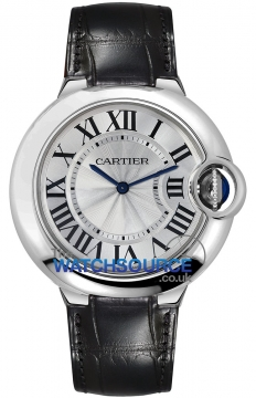 Cartier Ballon Bleu 46mm Mens watch, model number - w6920055, discount price of £16,110.00 from The Watch Source
