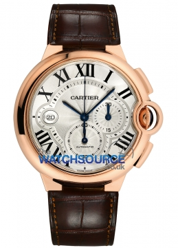 Cartier Ballon Bleu Chronograph Mens watch, model number - w6920074, discount price of £17,072.00 from The Watch Source