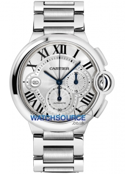 Cartier Ballon Bleu Chronograph Mens watch, model number - w6920076, discount price of £6,670.00 from The Watch Source