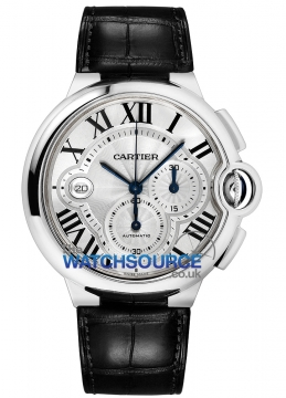 Cartier Ballon Bleu Chronograph Mens watch, model number - w6920078, discount price of £6,290.00 from The Watch Source