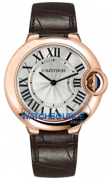 Cartier Ballon Bleu 40mm Mens watch, model number - w6920083, discount price of £11,792.00 from The Watch Source