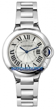Cartier Ballon Bleu 33mm Ladies watch, model number - w6920084, discount price of £3,915.00 from The Watch Source