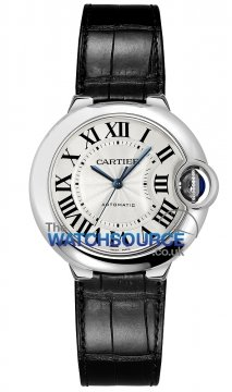 Cartier Ballon Bleu 33mm Ladies watch, model number - w6920085, discount price of £3,780.00 from The Watch Source