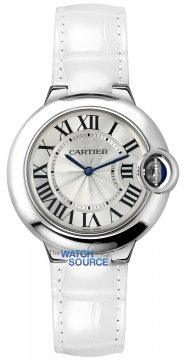 Buy this new Cartier Ballon Bleu 33mm w6920086 ladies watch for the discount price of £3,645.00. UK Retailer.