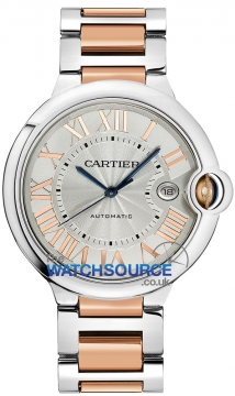 Cartier Ballon Bleu 42mm Mens watch, model number - w6920095, discount price of £7,348.00 from The Watch Source