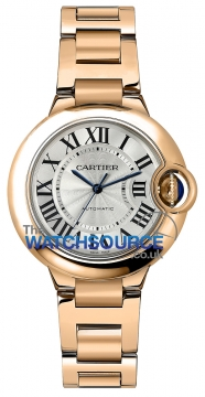 Buy this new Cartier Ballon Bleu 33mm w6920096 ladies watch for the discount price of £18,180.00. UK Retailer.