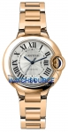 Cartier Ballon Bleu 33mm w6920096 watch