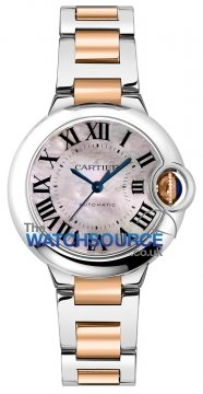 Buy this new Cartier Ballon Bleu 33mm w6920098 ladies watch for the discount price of £6,660.00. UK Retailer.