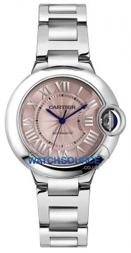 Cartier Ballon Bleu 33mm w6920100 watch