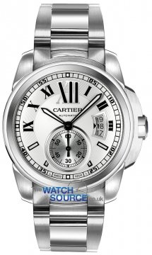 Cartier Calibre de Cartier 42mm Mens watch, model number - w7100015, discount price of £5,895.00 from The Watch Source