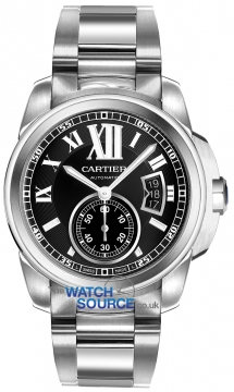 Cartier Calibre de Cartier 42mm Mens watch, model number - w7100016, discount price of £5,895.00 from The Watch Source