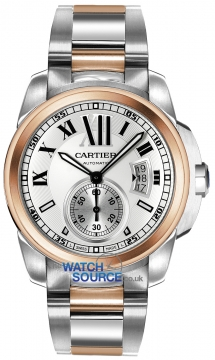 Cartier Calibre de Cartier 42mm Mens watch, model number - w7100036, discount price of £8,712.00 from The Watch Source