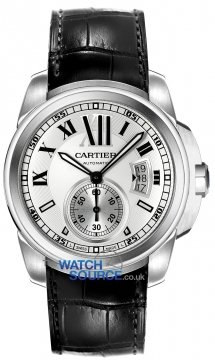 Buy this new Cartier Calibre de Cartier 42mm w7100037 mens watch for the discount price of £5,535.00. UK Retailer.
