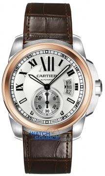 Cartier Calibre de Cartier 42mm Mens watch, model number - w7100039, discount price of £7,605.00 from The Watch Source