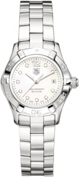 Tag Heuer Aquaracer Quartz Ladies 27mm Ladies watch, model number - waf1415.ba0824, discount price of £1,560.00 from The Watch Source
