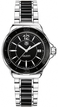 Tag Heuer Formula 1 Quartz 37mm Ladies watch, model number - wah1210.ba0859, discount price of £935.00 from The Watch Source