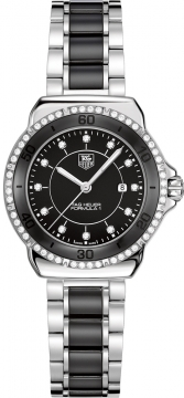 Buy this new Tag Heuer Formula 1 Quartz 32mm wah1312.ba0867 ladies watch for the discount price of £1,827.00. UK Retailer.